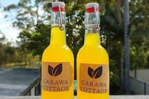 We provide chilled home made beverages for you arrival.
