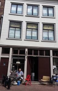 Zolderverdieping  in het centrum van Dordrecht.
