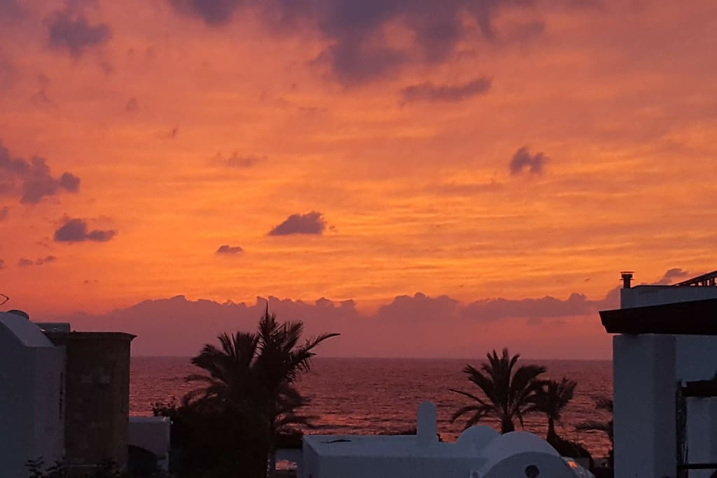 Sunsets from balcony