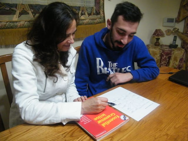English language homestay, lessons, meals & tours - Pembroke - Haus