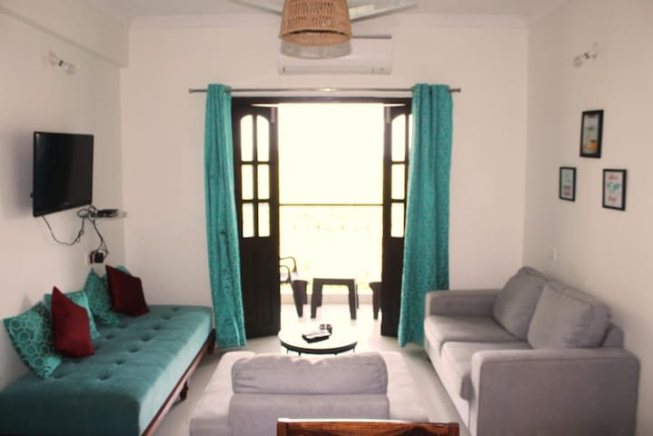 Cozy 1bhk  fully furnished apartment
