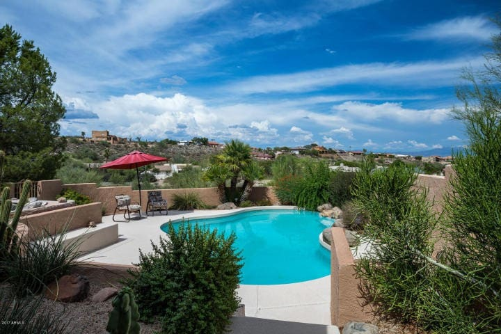 Fountain Hills with Heated Pool and Amazing Views!