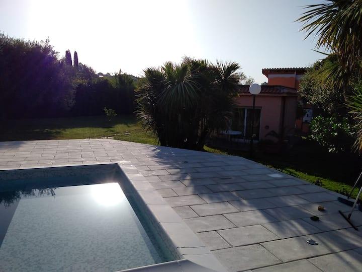Apartment and Terrace of Villa Kroma near Rome