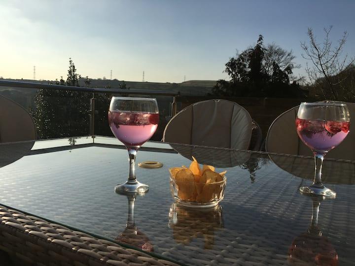 Denleigh, Stunning Views over Shibden Estate