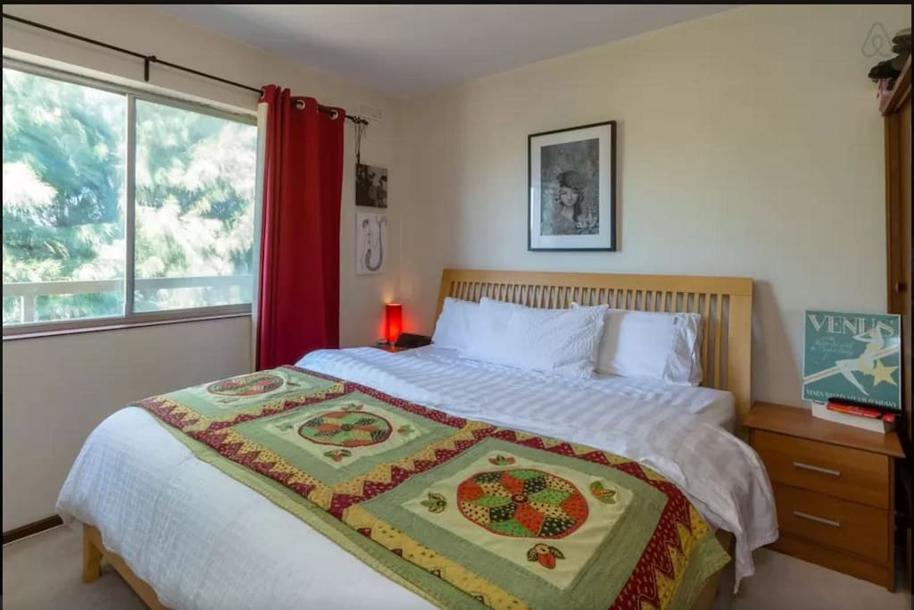 Master Bedroom with King bed (only available when renting both rooms)