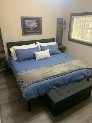 Get a restful night's sleep on our king memory foam mattress.