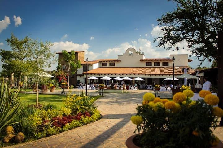 """Mexican Hotel Hacienda La Moreda """"Room Magnolia"""""""