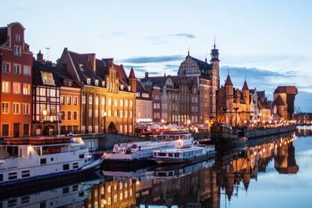Beutiful and comfortable doubleroom - Gdańsk