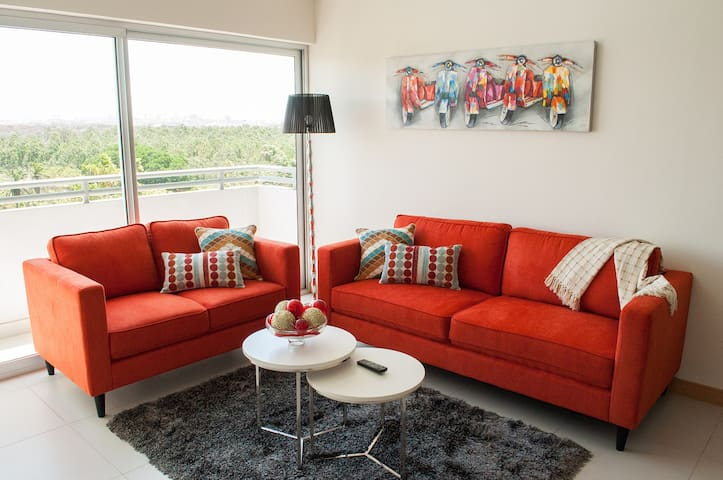 Penthouse fully furnished in HEREDIA - Free Zones