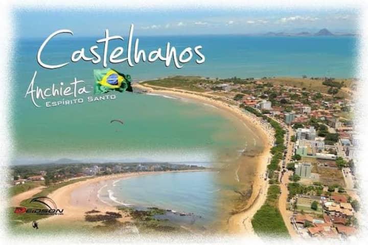 Chalé aconchegante na Praia dos Castelhanos