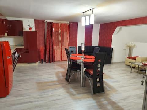 Schönes 2 Zimmer Whg (100qm)in einem Privat Haus.