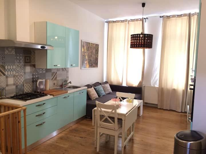 Apartamento Delux con Terraza y desayuno incluído.