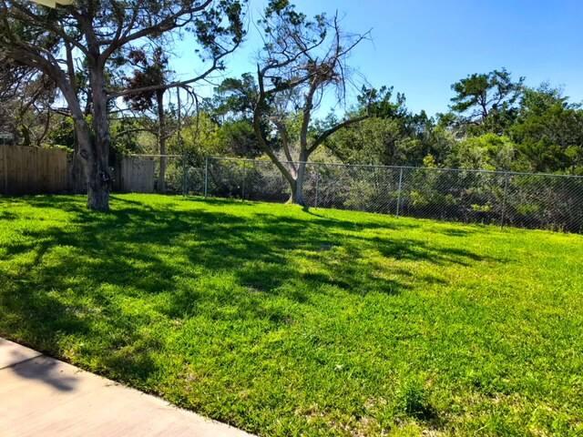 Huge fenced in back yard!