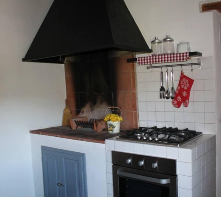 Barbecue in cucina