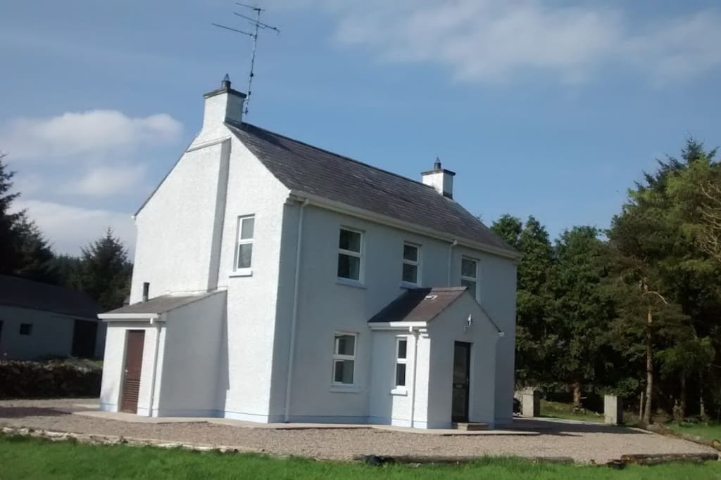 House in secluded and tranquil working farm in mid Tyrone