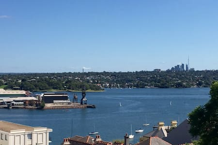 Light filled apartment in central Balmain, Sydney - Balmain - Appartement