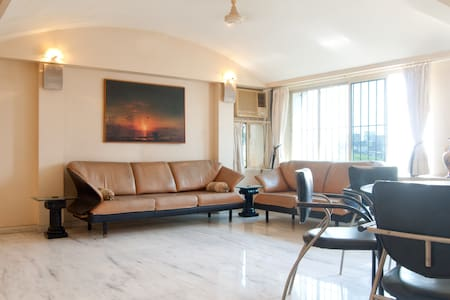 3bhk Furnished Home - Bandra West - Bombay - Daire