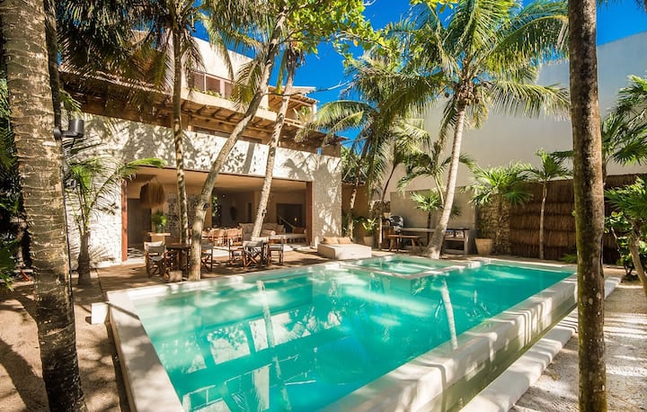 Mariola - 5BR Dream House on Tulum's Soliman Bay