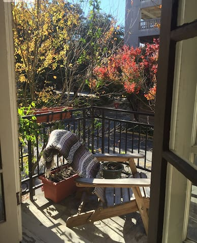 Cozy apartment in heart of historic district!
