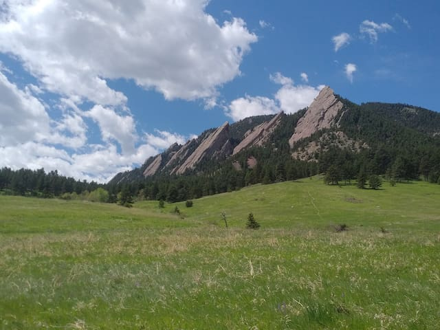 Chautauqua Retreat in Boulder, Colorado