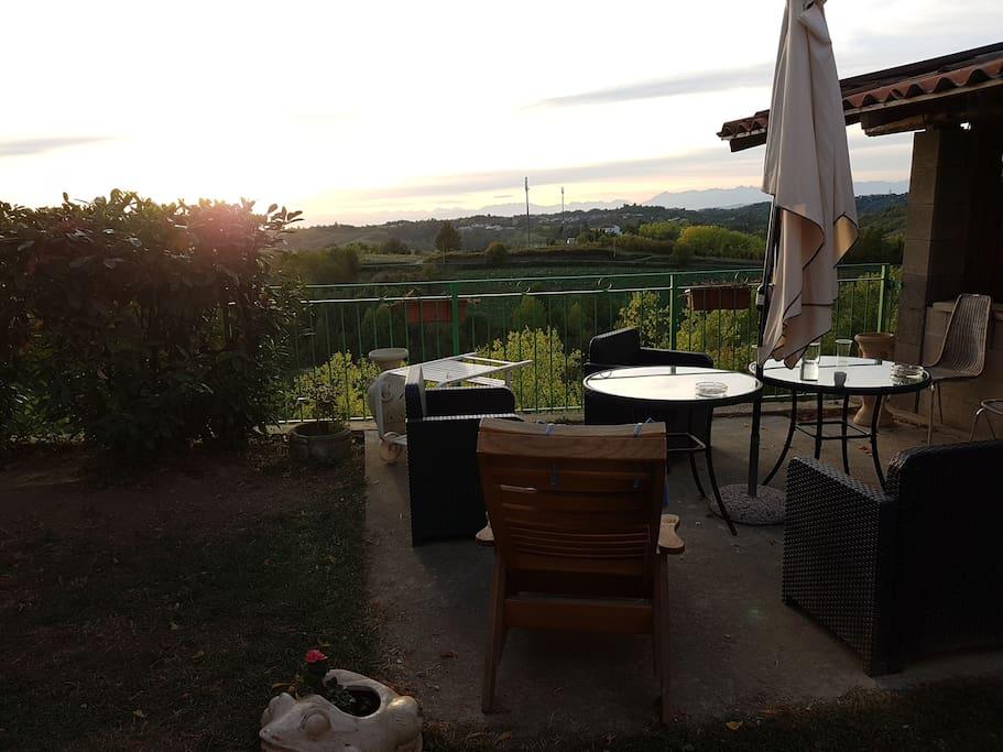 Villa la terrazza di mombarone houses for rent in mombarone piemonte italy - Villa la terrazza ...