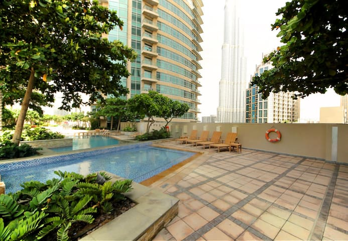Glamour lifestyle in Dubai Downtown - Dubai - Apartemen