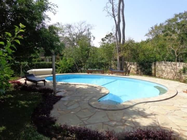Eurika villas / two villas/ beautiful garden/ pool