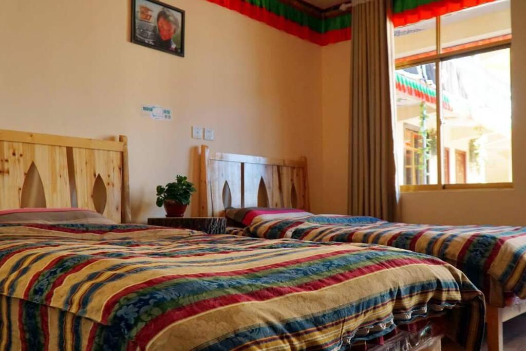 纯棉的床单被套,有种家的舒适