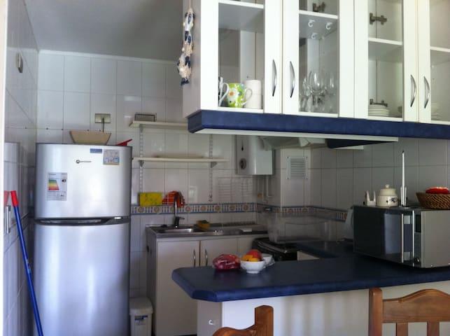 DEPTO.CONDOMINIO PARA 4 PERSONAS, VISTA AL PARQUE - Algarrobo  - Apartamento