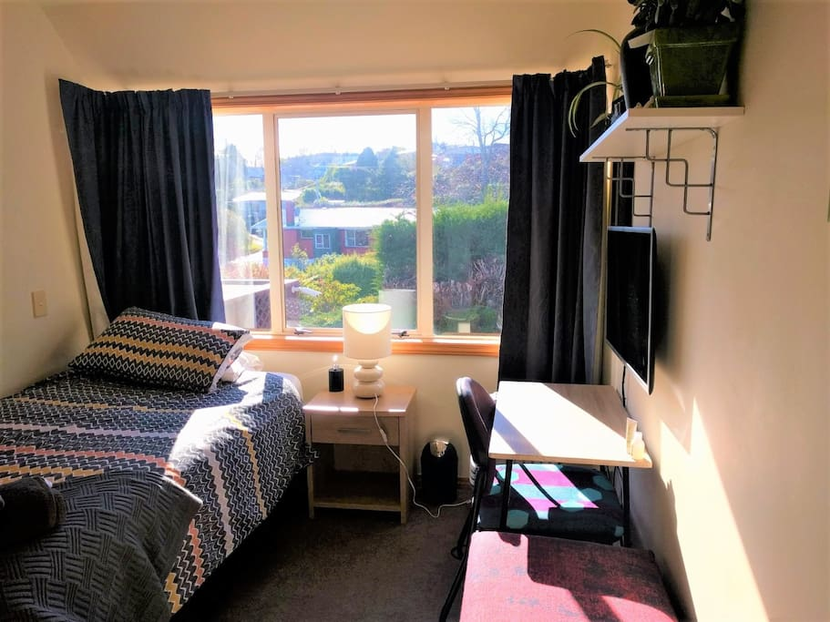 This is your room its lovely and sunny!!