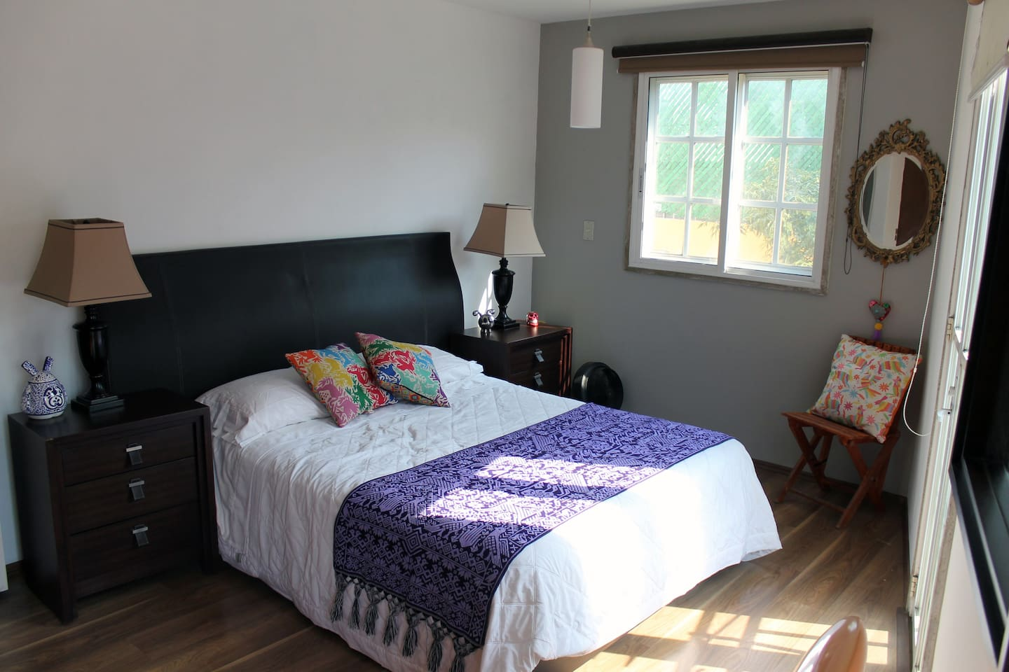 Private Bedroom with doube full bed