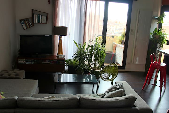 Charming three-roomed apartment, with parking - Toulouse - Apto. en complejo residencial