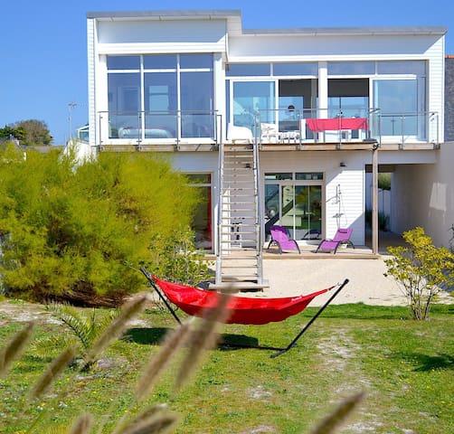 Bretagne - Villa de la plage de Santec
