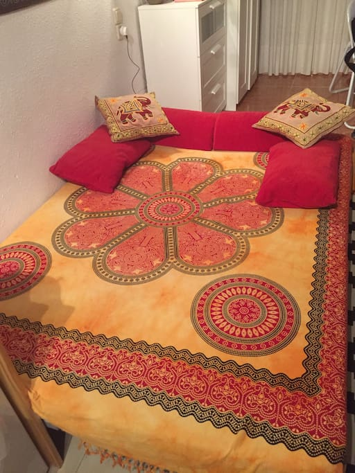 Large IKEA double sofa bed