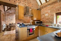 Well equipped kitchen