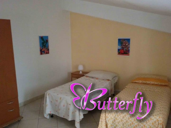 Butterfly Double Bedroom
