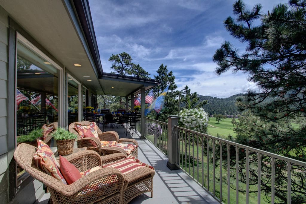 """""""We sat on the patio in the morning and watched hundreds of elk and listened to them bugle. It was amazing."""" -Marie"""