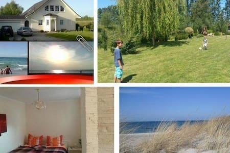 Ruhige Ferienwohnung nahe Ostsee - Daire