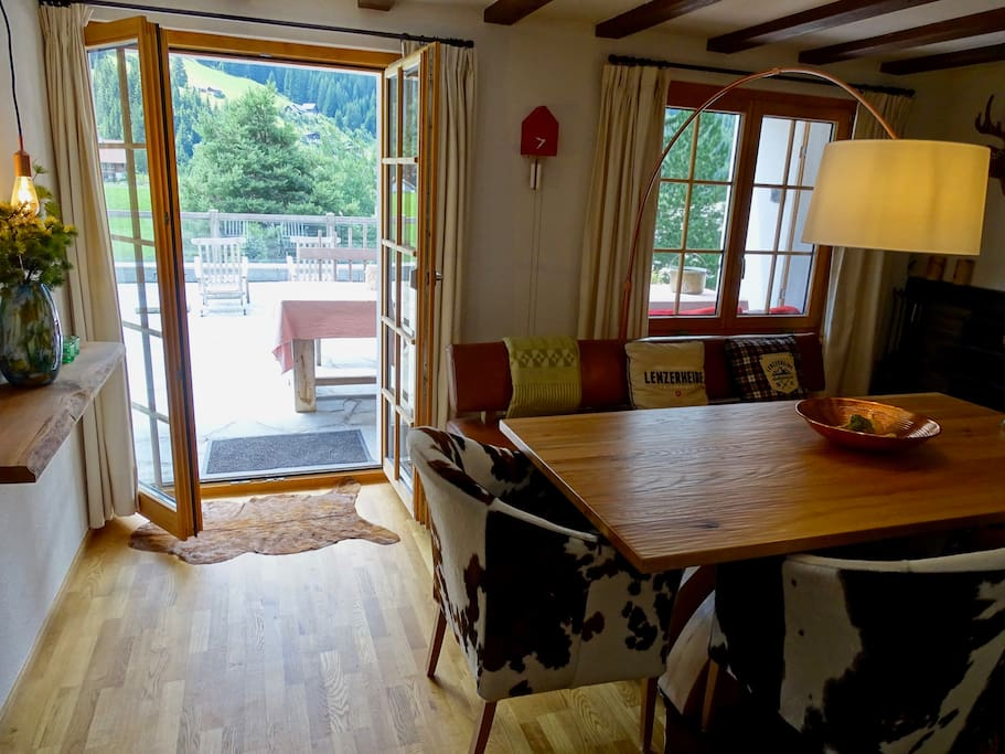 living/dining with access to your private Terras