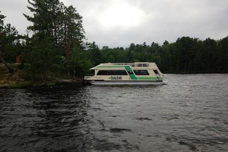 """46"""" Houseboat w/picturesque views from every room"""