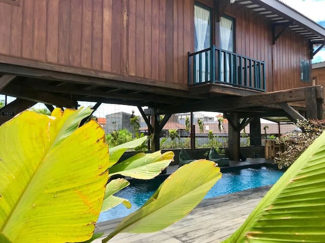 Deluxe Loft Wooden House with Kitchen ¨ Ubud room¨