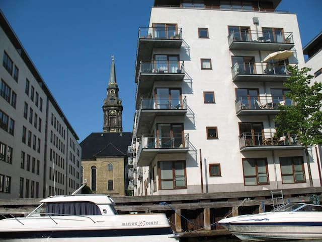 Apartment in quiet area, but in the city center - Copenhague - Apartamento