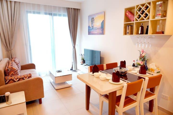 11【山景西、中天海景】泳池景UNIXX一房一厅高档度假公寓 - Pattaya City - Appartement