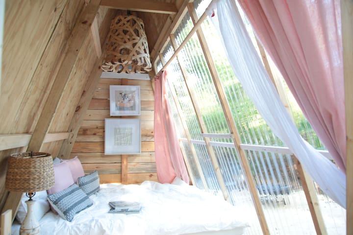 Tiny Cabin on Farm #1  (With AC)