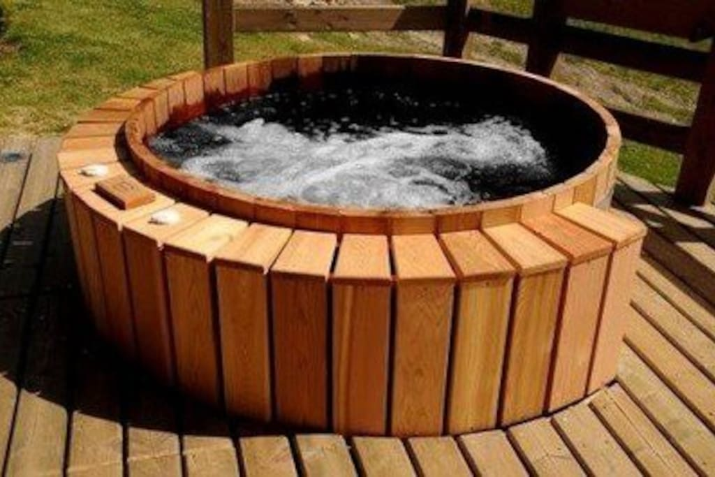 Electric Fired Hot Tub
