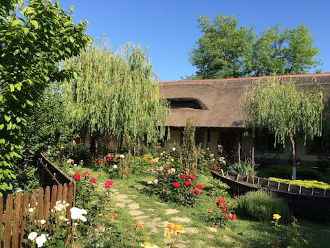 Traditional rooms and boat trips in Danube Delta