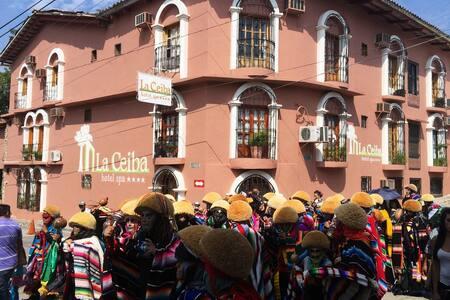 Habitación doble - Hotel la Ceiba