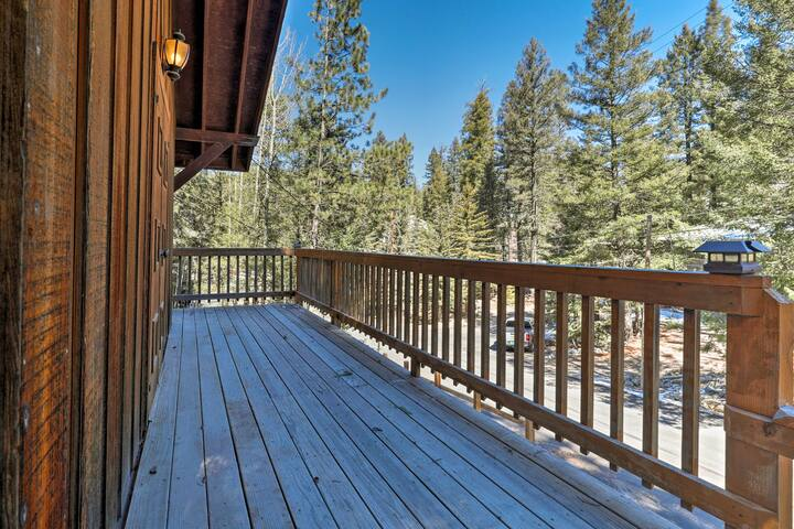 Breathe in that fresh forest air from the large, second-floor balcony!