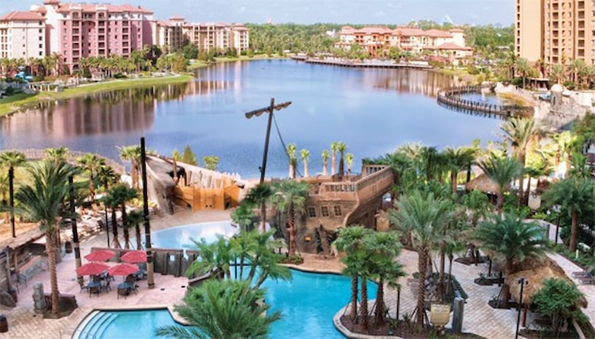 Bonnet Creek, On Disney Property, 1 Bdr sleeps 4