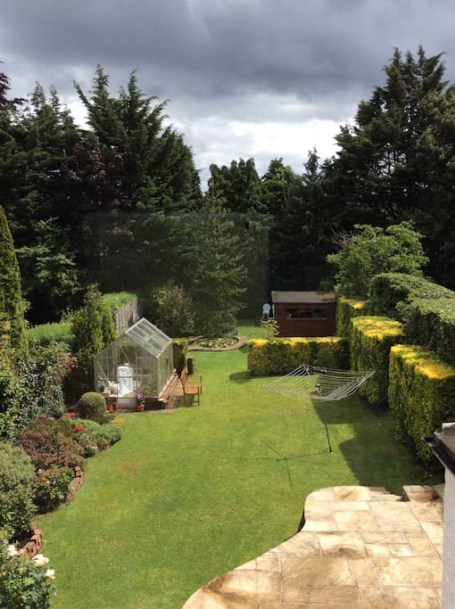 This is our back garden - always quiet & a great place to relax on sunny days.